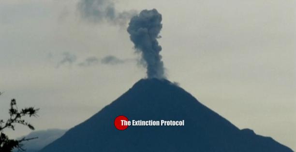 Colima Volcano June 23
