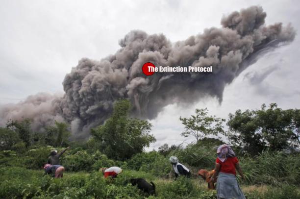 Sinabung Volcano June 18